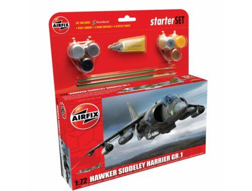 Airfix Starter Set Hawker Harrier GR1 1:72 (A55205)