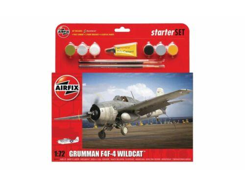 Airfix Starter Set Grumman Wildcat F4F-4 1:72 (A55214)