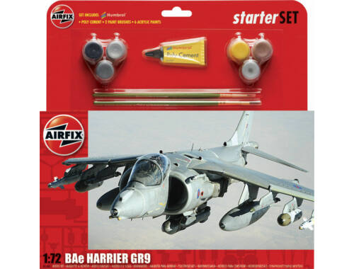 Airfix Starter Set Harrier GR9 (new tool) 1:72 (A55300)