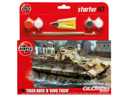 Airfix King Tiger 1:76 (A55303)