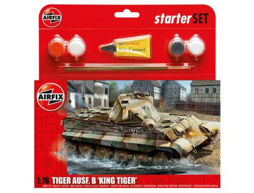 Airfix Starter Set King Tiger 1:76 (A55303)