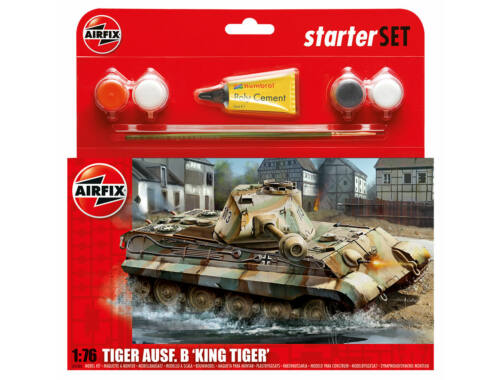 Airfix Starter Set King Tiger 1:76 (A55303)
