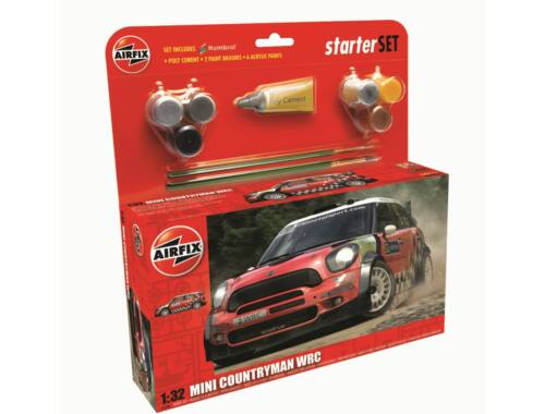 Airfix Mini Countryman WRC Starter Set 1:32 (A55304)