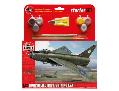 Airfix Starter Set English Electric Lighting F2A 1:72 (A55305)