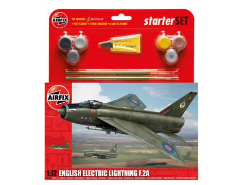 Airfix Starter Set English Electric Lighting F2A 1:72 (A55305)