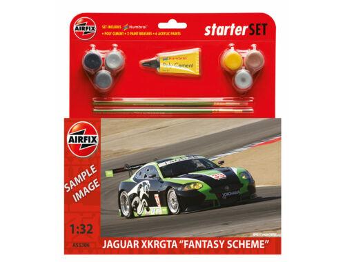 "Airfix Starter Set Jaguar XKRGT3 ""Fantasy Scheme"" 1:32 (A55306)"
