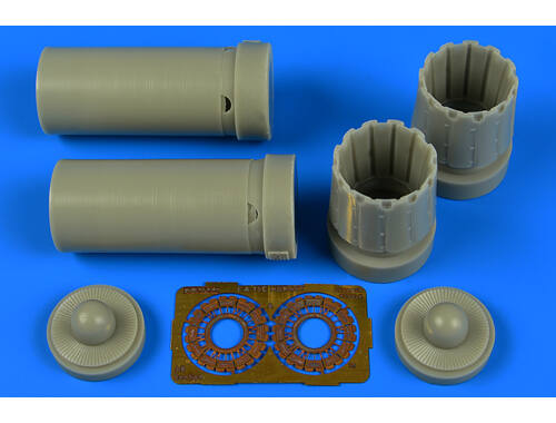 Aires F / A-18C exhaust nozzles-opened f.Kinetic 1:48 (4701)