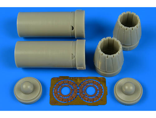 Aires F / A-18C exhaust nozzles-closed f.Kinetic 1:48 (4702)