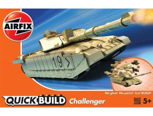 Airfix Quickbuild Challenger Tank J6010