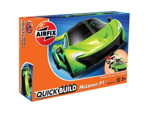 Airfix Quickbuild McLaren P1 zöld autó J6021