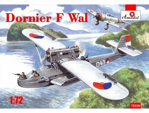 Amodel Dornier Do J / F Whale, East India was 1:72 (72339)