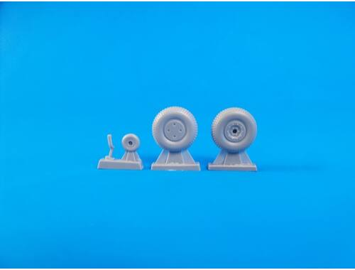 CMK Boomerang/Wirraway – 1/48 Wheels / for Special Hobby kits 1:48 (Q48272)