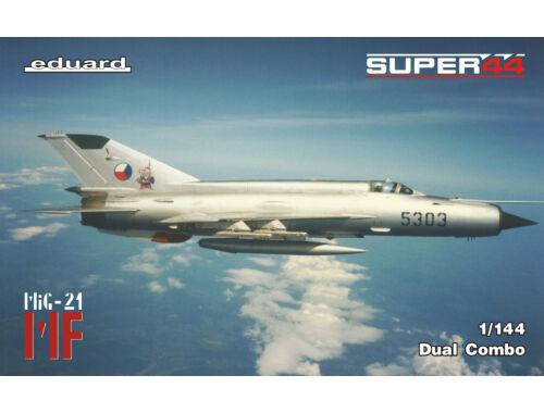Eduard MiG-21 in Czechoslovak service DUAL COMBO SUPER44 1:144 (4434)