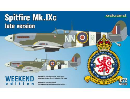 Eduard Spitfire Mk.IXc late version WEEKEND edition 1:72 (7431)