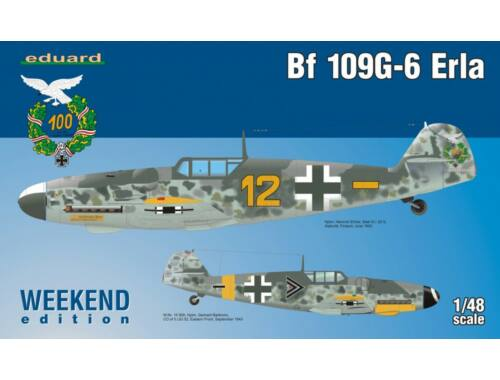 Eduard Bf 109G-6 Erla WEEKEND edition 1:48 (84142)