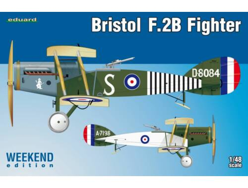 Eduard Bristol F.2B Fighter WEEKEND edition 1:48 (8489)