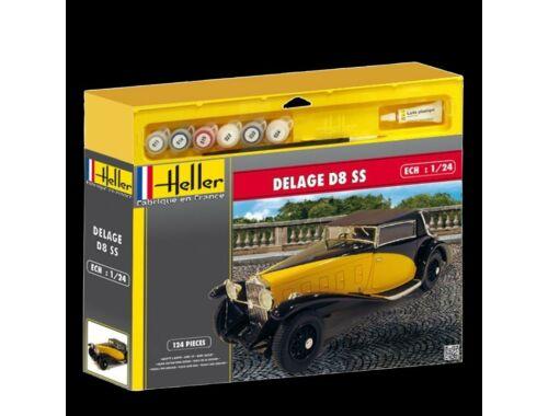 Heller Starter Set Delage D8 SS 1:16 (50720)