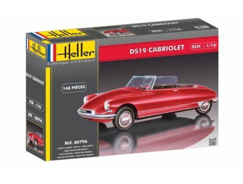 Heller Citroën DS 19 Cabriolet 1:16 (80796)