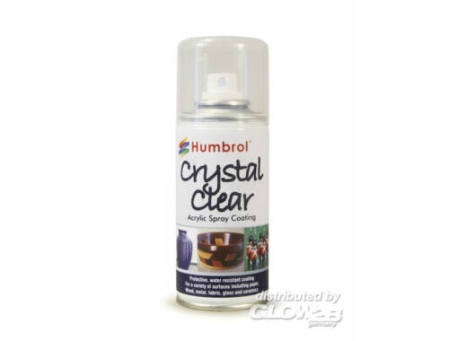 Humbrol Spray Crystal Clear 150 ml (AC7550)