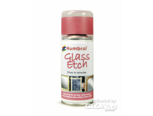 Humbrol Glowing Effects Spray Red 150 ml (AD7701)