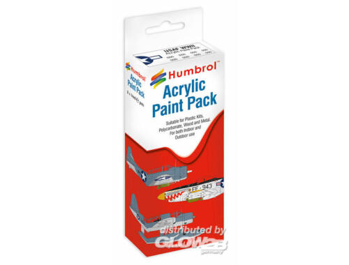 Humbrol Acryl Paint Set USAF (8 pcs) (AA9053)