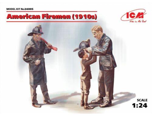 ICM American Firemen 1910s 1:24 (24005)