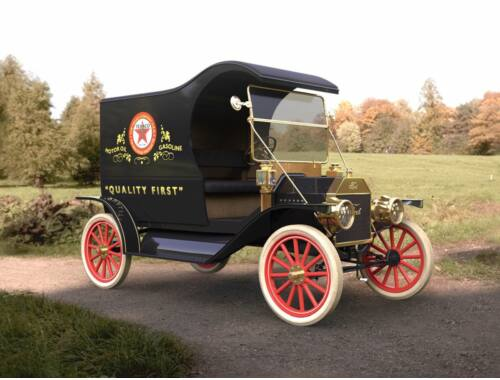 ICM Model T 1912 Light Delivery Car 1:24 (24008)