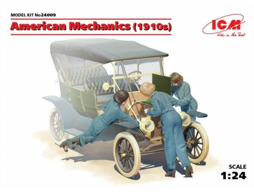 ICM American mechanics 1910s 1:24 (24009)