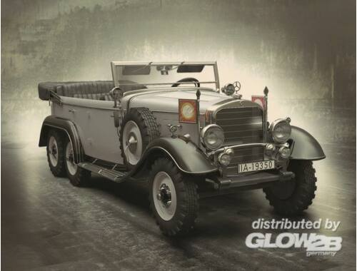 ICM Type G4 1935, German Personnel Car 1:24 (24011)