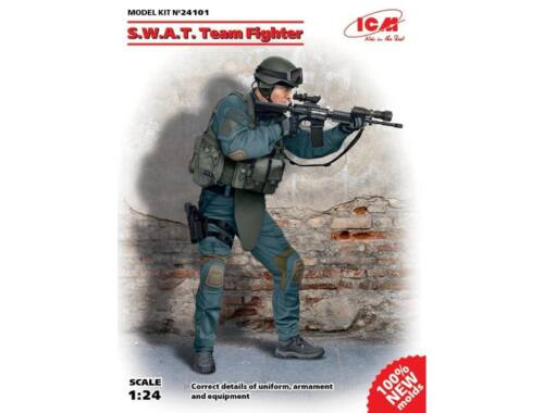 ICM S.W.A.T. Team Fighter No.1  1:24 (24101)