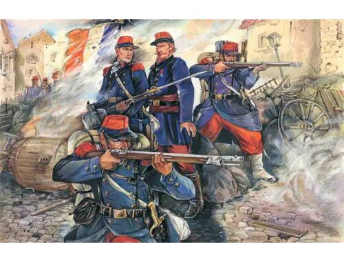 ICM French Line Infantry (1870-1871) 1:35 (35061)
