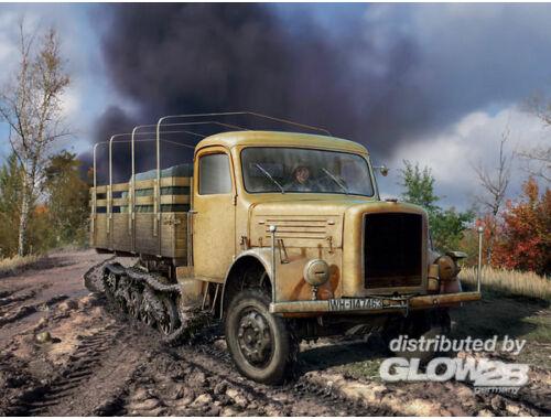 ICM KHD S3000/SS M Maultier Semi-tracked truck 1:35 (35453)