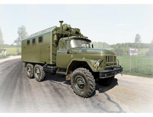 ICM ZiL-131 KShM, Soviet Army Vehicle 1:35 (35517)