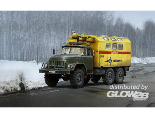 ICM ZiL-131 Emergency Truck, Soviet Vehicle 1:35 (35518)