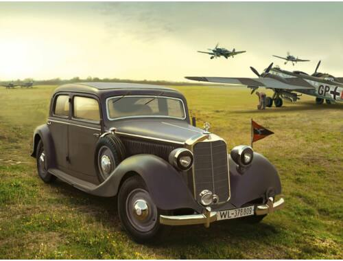 ICM Type 320 (W142) Saloon WWII German Staff Car 1:35 (35537)