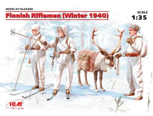 ICM Finnish Riflemen 1939 1:35 (35566)