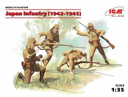 ICM Japan Infantry 1942-1944 1:35 (35568)