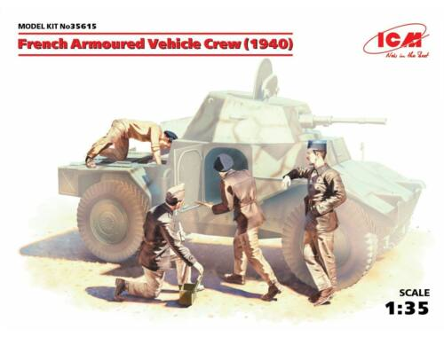 ICM French Armored Vehicle Crew 1939 1:35 (35615)