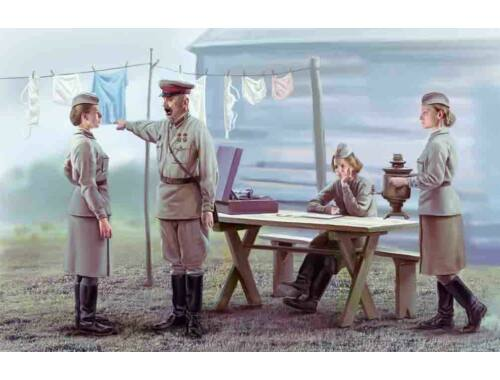 ICM Soviet Military Service Women 1939-1941 1:35 (35621)