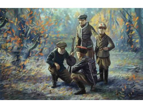 ICM WWII Soviet Partisans (4 figures) 1:35 (35631)
