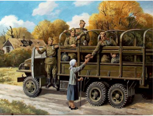 ICM Soviet Motorized Infantry (1943-1945) 1:35 (35635)