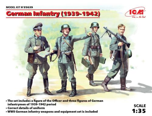 ICM German Infantry 1939-1941 1:35 (35639)