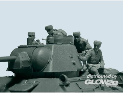 ICM Soviet Tank Riders 1943-1944 1:35 (35640)