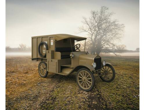 ICM Model T 1917 Ambulance WWI American Car 1:35 (35661)