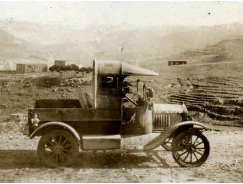 ICM Model T 1917 Utility WWI Australian Army Car 1:35 (35664)