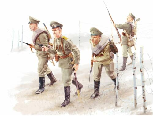 ICM WWI Russian Infantry (4figures) 1:35 (35677)