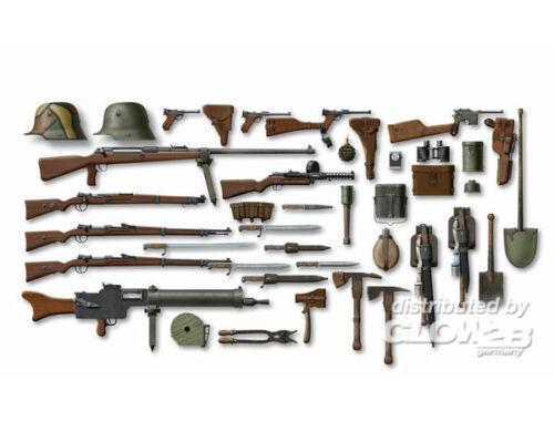 ICM WWI German Infantry W   E 1:35 (35678)