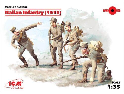 ICM Italian Infantry 1914 1:35 (35687)