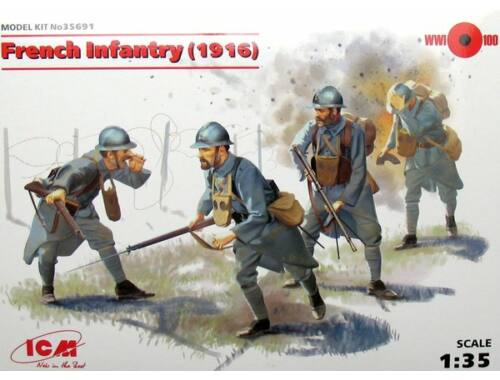 ICM French Infantry 1915 1:35 (35691)