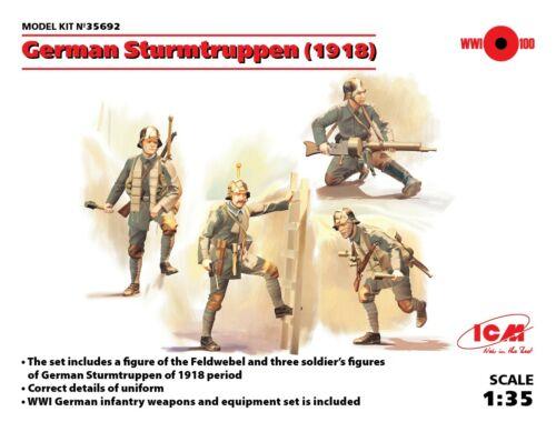 ICM German Sturmtruppen 1917 1:35 (35692)
